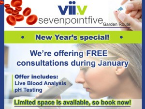 Free Live Blood Analysis and pH Testing in George