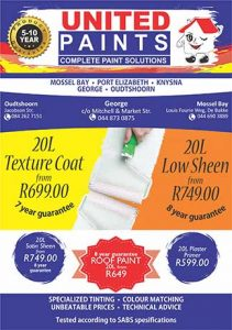 Huge Paint Sale in Mossel Bay and George