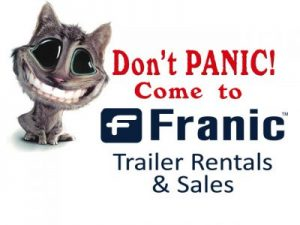 Franic Trail Rentals and Sales