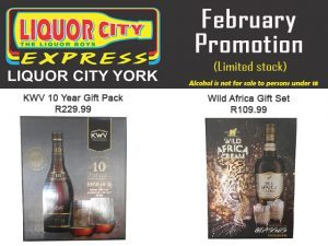 Gift Set Promotion at Liquor Shop in George