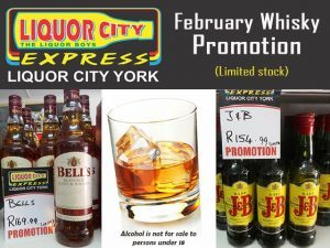 Whiskey Promotion at Liquor Shop in George