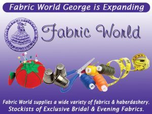 Fabric World George is Expanding