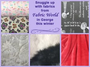 Snuggle Up this Winter with Fabrics from Fabric World in George