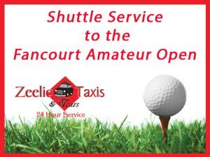 Shuttle to the Fancourt Amateur Open in George