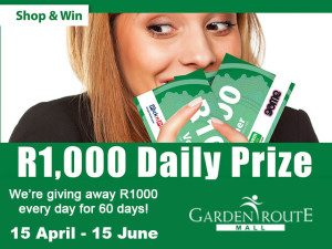 Shop and Win at the Garden Route Mall in George