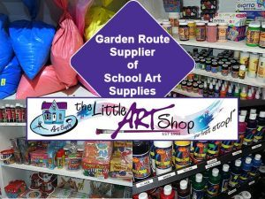School Art Materials in the Garden Route