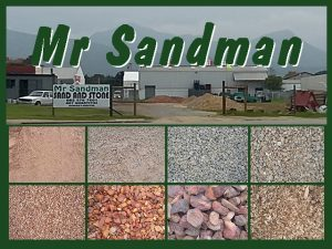 Sand and Stone Supplier in George
