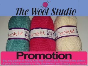 Family Knit Promotion at The Wool Studio