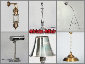 Wholesale Supplier of Timeless Antique Solid Brass Lamps in South Africa
