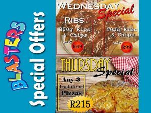 Restaurant Specials Mossel Bay