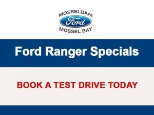 Ford Ranger Special