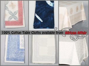 Wholesale Supplier of Cotton Table Cloths