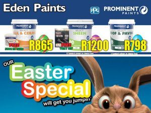 Easter Specials at Eden Paint in George