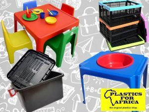 Back to School Supplies at Plastics for Africa George