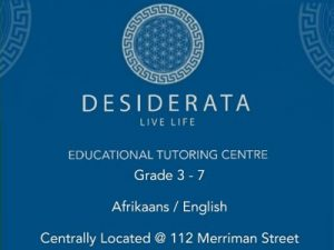 Desiderata Educational Tutoring Centre