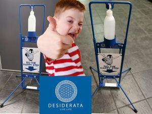 Kids Foot Operated Sanitizer Stands For Sale