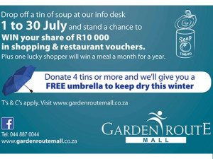 Win With the Garden Route Mall Soup Drive