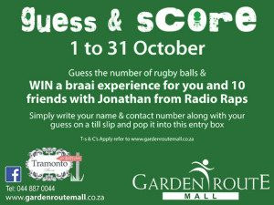 Garden Route Mall Rugby World Cup 2015 Campaign